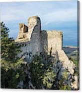 Kantara Castle, Cyprus Canvas Print