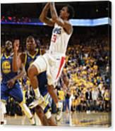 La Clippers V Golden State Warriors - Canvas Print