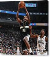La Clippers V Milwaukee Bucks Canvas Print