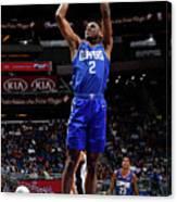 La Clippers V Orlando Magic Canvas Print