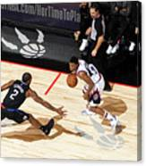 La Clippers V Toronto Raptors Canvas Print
