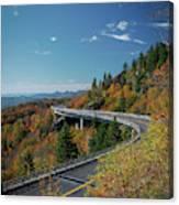 Linn Cove Viaduct - Blue Ridge Parkway Canvas Print