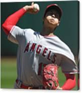 Los Angeles Angels Of Anaheim  V Canvas Print