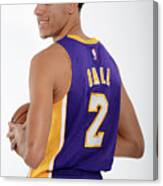 Los Angeles Lakers Introduce Lonzo Ball Canvas Print
