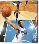 Los Angeles Lakers V Minnesota Canvas Print