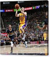 Los Angeles Lakers V Utah Jazz Canvas Print
