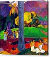 Mata Mua  Canvas Print