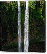 Mauritius. The 90 Meter High Twin Canvas Print