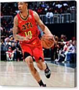 Memphis Grizzlies V Atlanta Hawks Canvas Print
