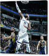 Memphis Grizzlies V Indiana Pacers Canvas Print