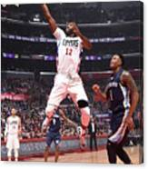 Memphis Grizzlies V Los Angeles Clippers Canvas Print