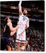 Memphis Grizzlies V Phoenix Suns Canvas Print
