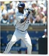 Milwaukee Brewers V San Diego Padres Canvas Print