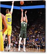 Milwaukee Bucks V Golden State Warriors Canvas Print