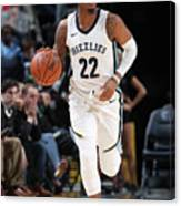Milwaukee Bucks V Memphis Grizzlies Canvas Print