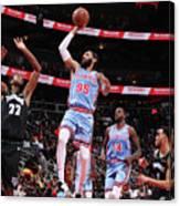 Minnesota Timberwolves V Atlanta Hawks Canvas Print