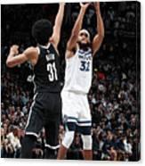 Minnesota Timberwolves V Brooklyn Nets Canvas Print