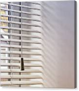 Modern Window Blind Canvas Print