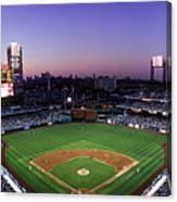 Montreal Expos V Philadelphia Phillies Canvas Print