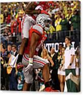National Championship - Oregon V Ohio Canvas Print