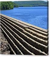 New Croton Dam At Croton On Hudson New York Canvas Print