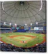 New York Yankees V Tampa Bay Rays Canvas Print
