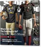 Nfc Gunslingers 2014 Nfl Football Preview Issue Sports Illustrated Cover Canvas Print