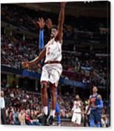 Oklahoma City Thunder V Cleveland Canvas Print