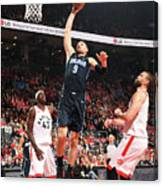Orlando Magic V Toronto Raptors - Game Canvas Print