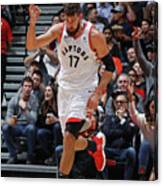 Philadelphia 76ers V Toronto Raptors Canvas Print