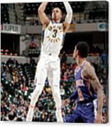 Phoenix Suns V Indiana Pacers Canvas Print