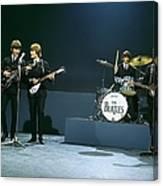 Photo Of Beatles Canvas Print