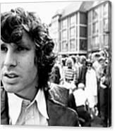 Photo Of Jim Morrison Canvas Print