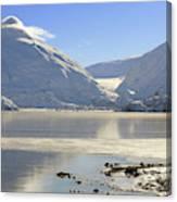 Portage Lake Alaska Canvas Print