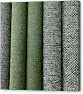 Rolls Of New Carpet Canvas Print