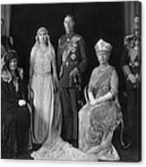 Royal Wedding Canvas Print