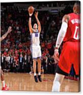 Sacramento Kings V Houston Rockets Canvas Print