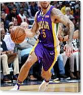 Sacramento Kings V New Orleans Pelicans Canvas Print