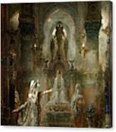 Salome Dancing Before Herod Canvas Print