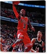 San Antonio Spurs V Chicago Bulls Canvas Print