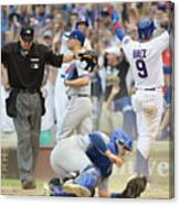 Toronto Blue Jays V Chicago Cubs Canvas Print