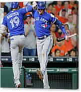 Toronto Blue Jays V Houston Astros 2 Canvas Print