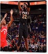 Toronto Raptors V Phoenix Suns Canvas Print