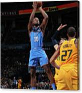 Utah Jazz V Oklahoma City Thunder Canvas Print