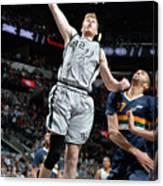 Utah Jazz V San Antonio Spurs Canvas Print