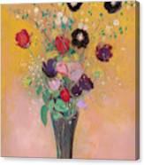 Vase Of Flowers, 1916 Canvas Print