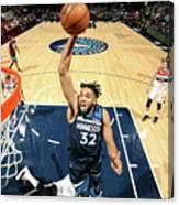 Washington Wizards V Minnesota Canvas Print