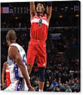 Washington Wizards V Philadelphia 76ers Canvas Print