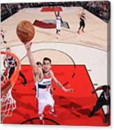 Washington Wizards V Portland Trail Canvas Print