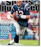 Whos Going Deep 2012 Nfl Playoff Preview Issue Sports Illustrated Cover Canvas Print